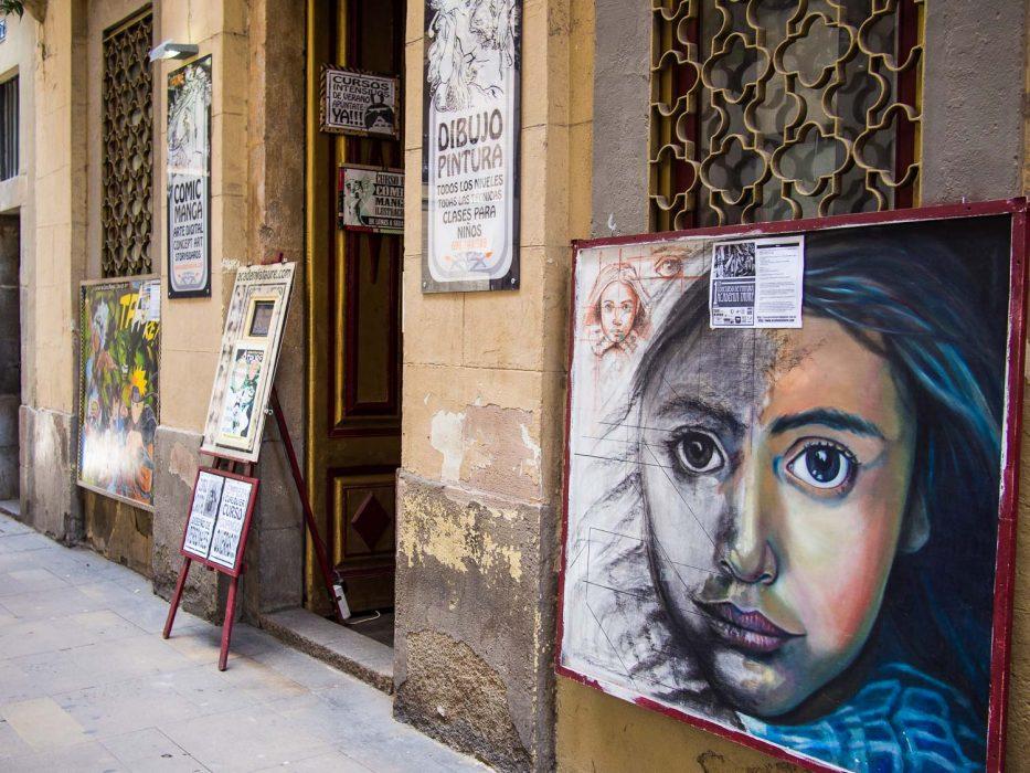 Gracia Barcelona art gallery