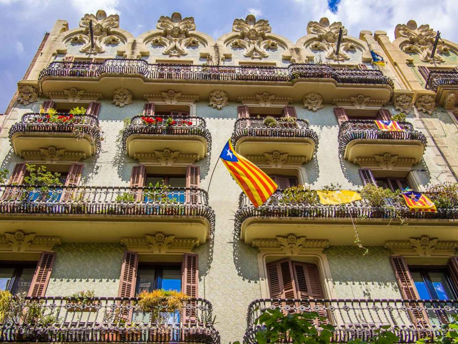 Gracia Barcelona architecture