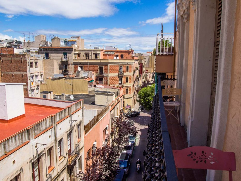 Gracia, Barcelona Waytostay apartment balcony view