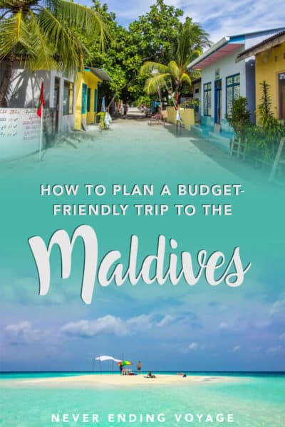 Here are all the best tips for planning a trip to the Maldives!