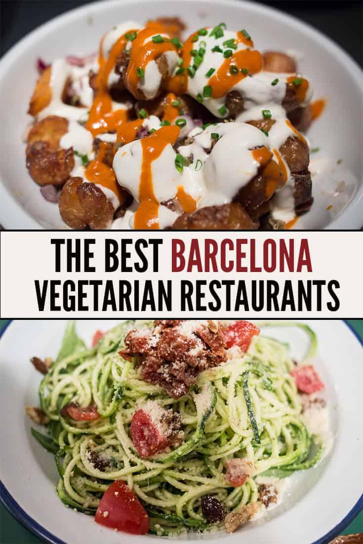 Best restaurants with vegetarian options barcelona