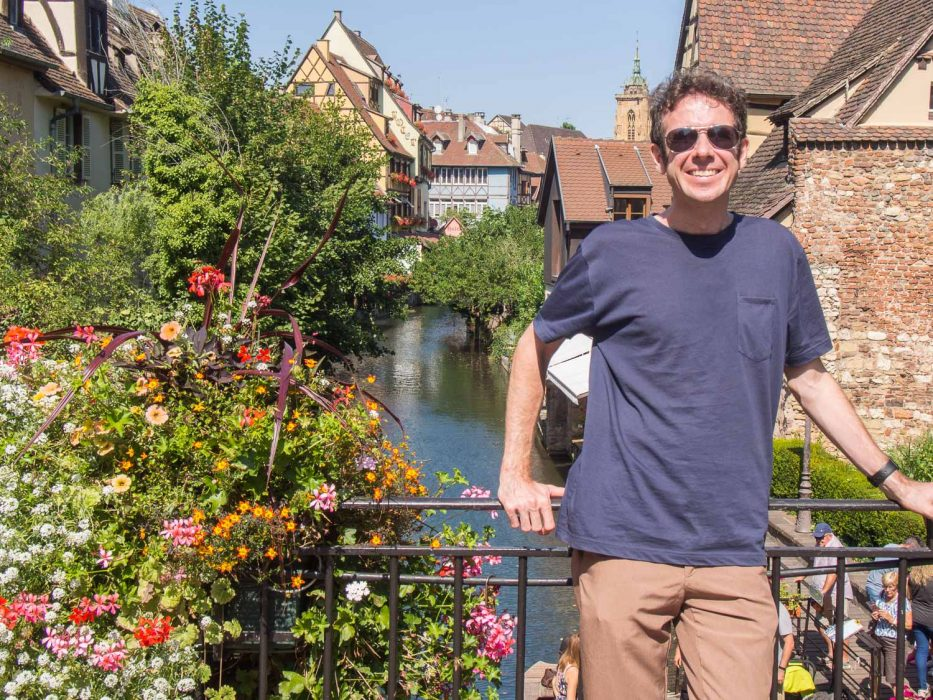 Ably t-shirt review: Simon in Colmar