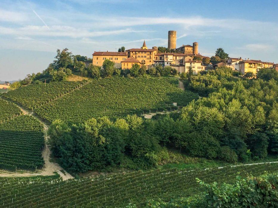 Castiglione Falletto in the Langhe, Piemonte