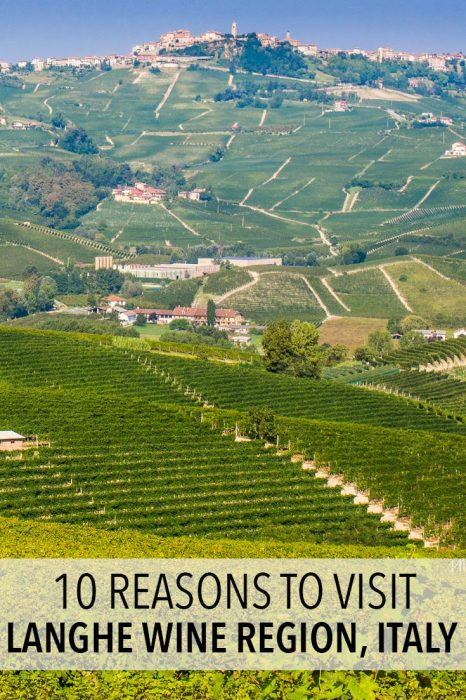 The Langhe is a stunning wine region in Piemonte, Italy famous for its Barolo red wine. It also has delicious food, picturesque hill towns, vineyard hikes and more. Click through to find out more about it.
