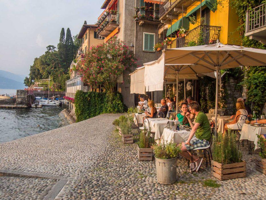 Caffe Varenna review, Lake Como