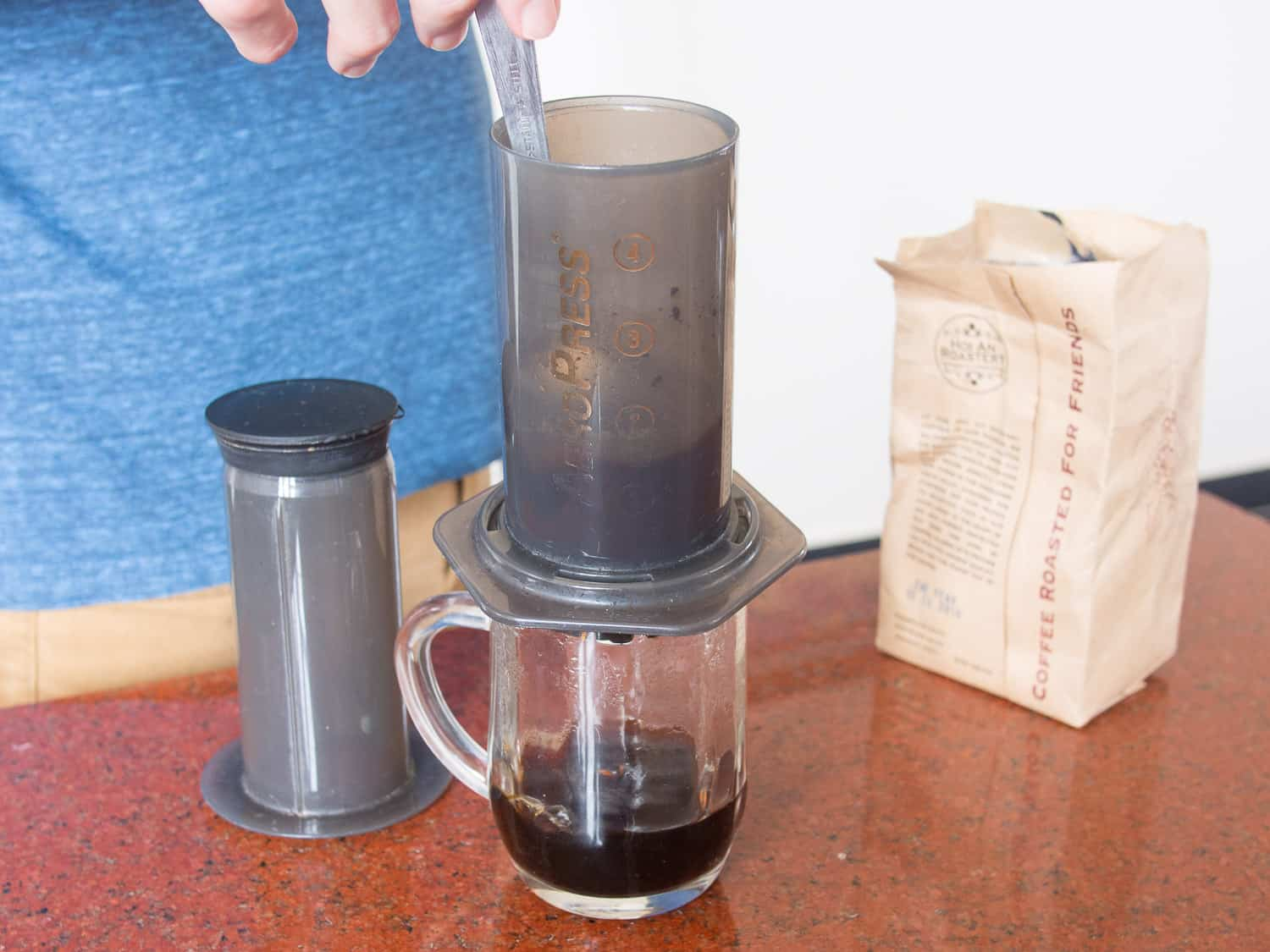AeroPress for travel review: why this is the best coffee maker for travel.