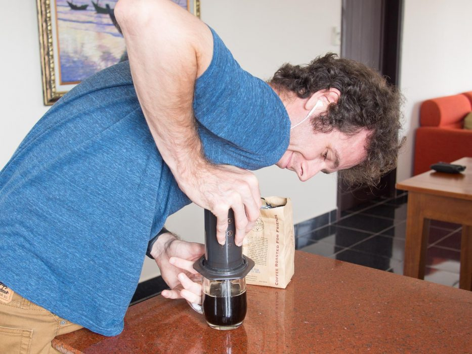 AeroPress for travel review