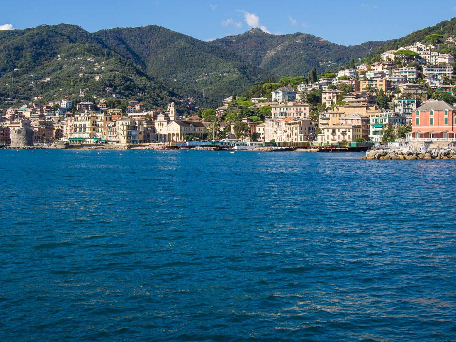 Rapallo, Italy travel guide - why Rapallo is the best base on the Italian Riviera and things to do and eat.