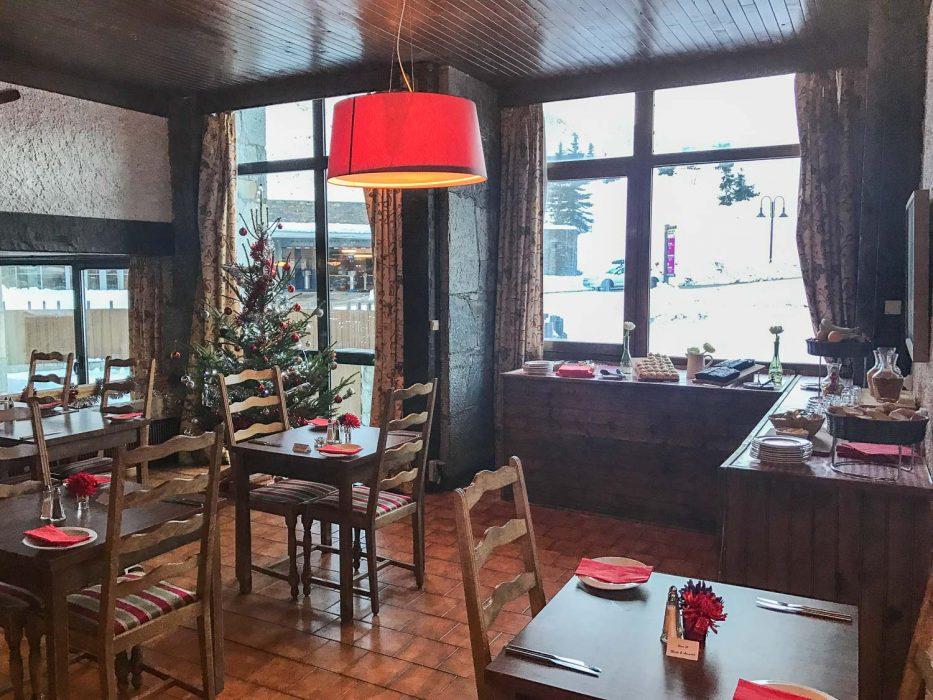 Hotel Haut de Toviere restaurant