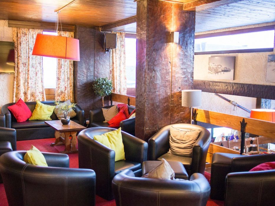 Hotel Haut de Toviere bar and lounge