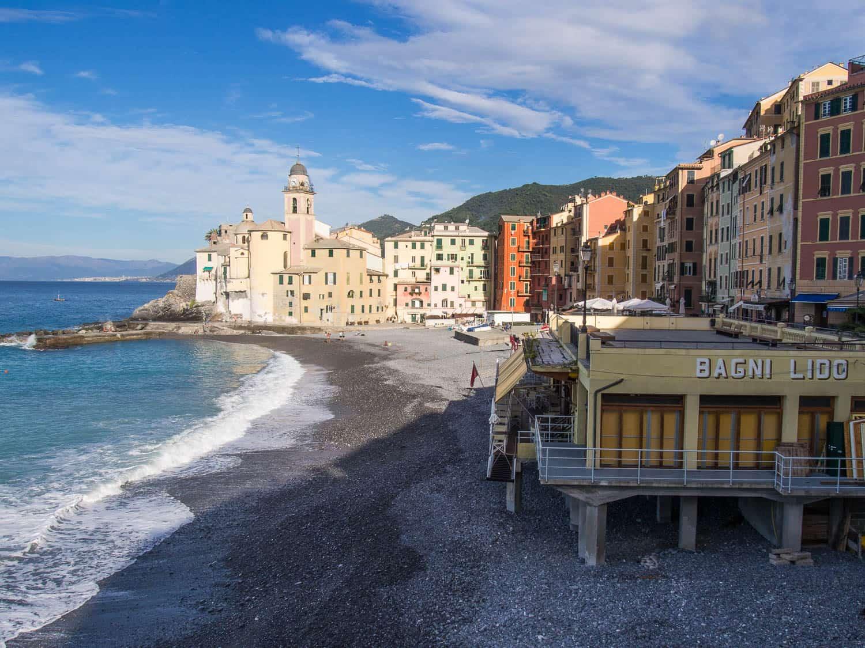 Camogli beach, Italy