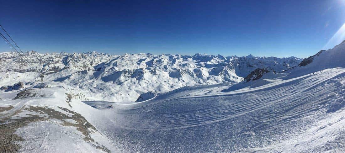 La Grande Motte glacier, Tignes