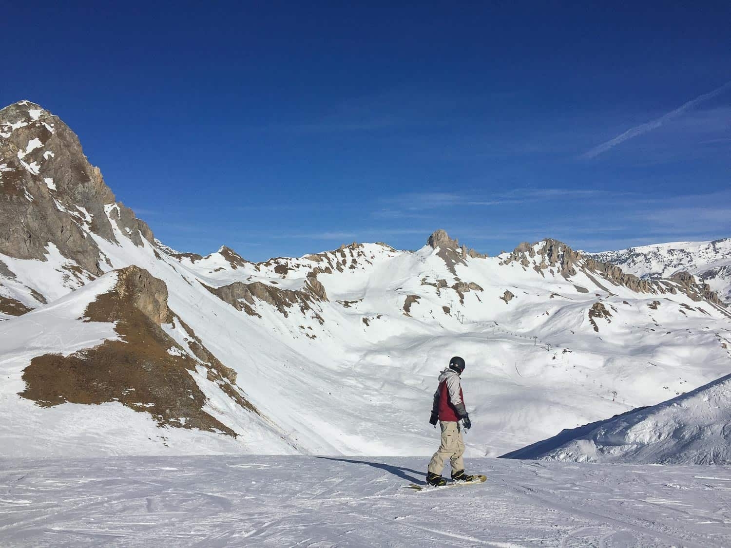 Carry-on packing list for a ski trip. Based on the one we used for snowboarding in Tignes, France.