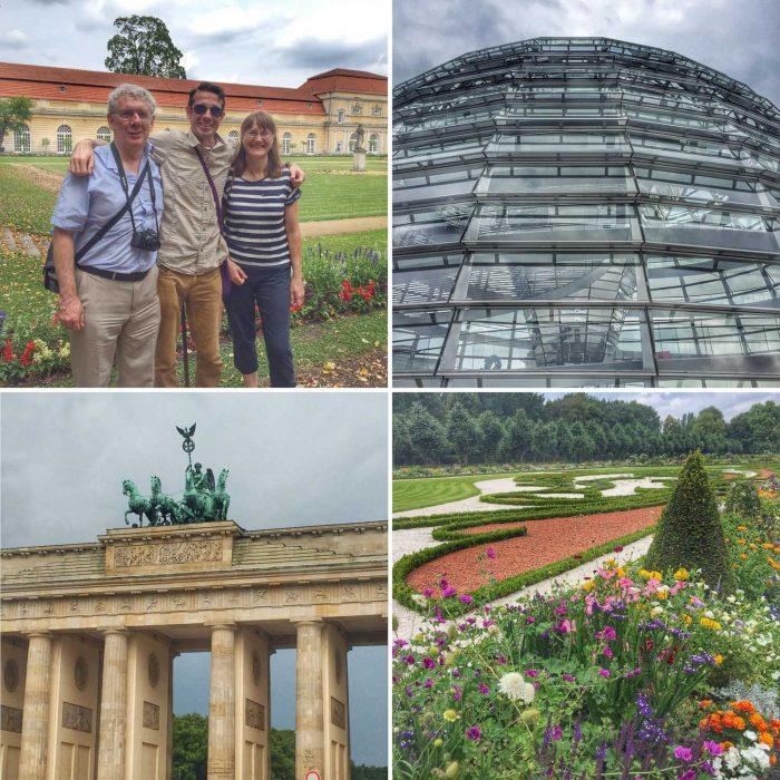 Sightseeing in Berlin with Simon's dad and stepmum