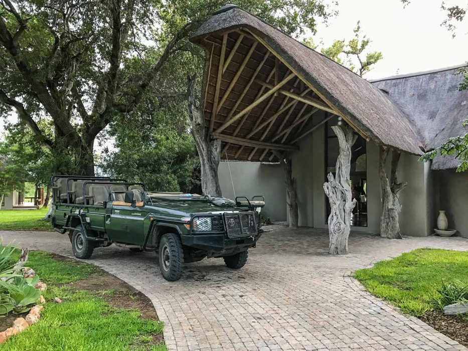 Klaserie Sands River Camp Review - the safari vehicle