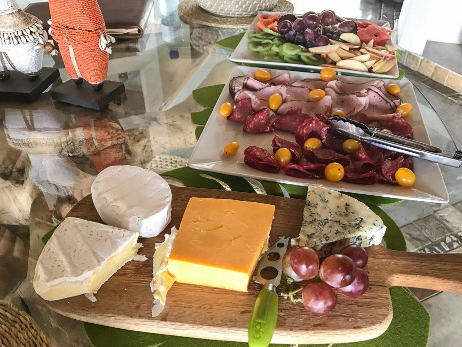 Klaserie Sands River Camp Review - breakfast buffet