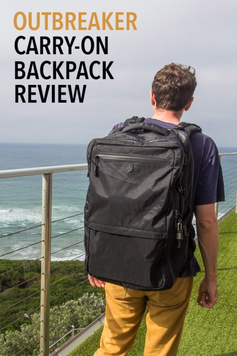 A detailed review of the Tortuga Outbreaker backpack, one of the best carry-on backpacks, especially for digital nomads and long term travellers.