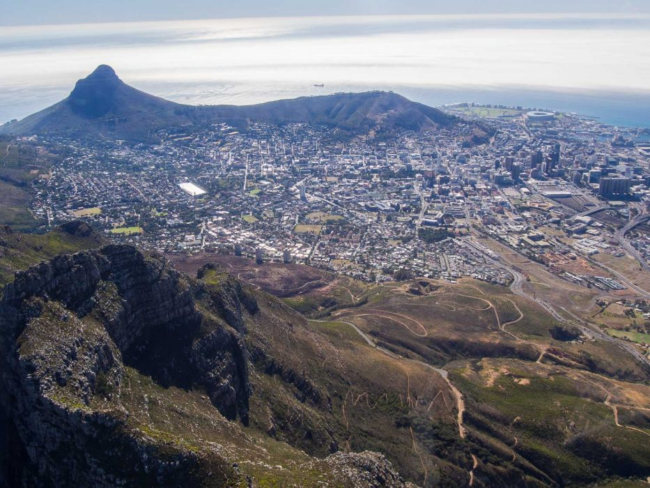 Cape Town Helicopters review: Devil's Peak