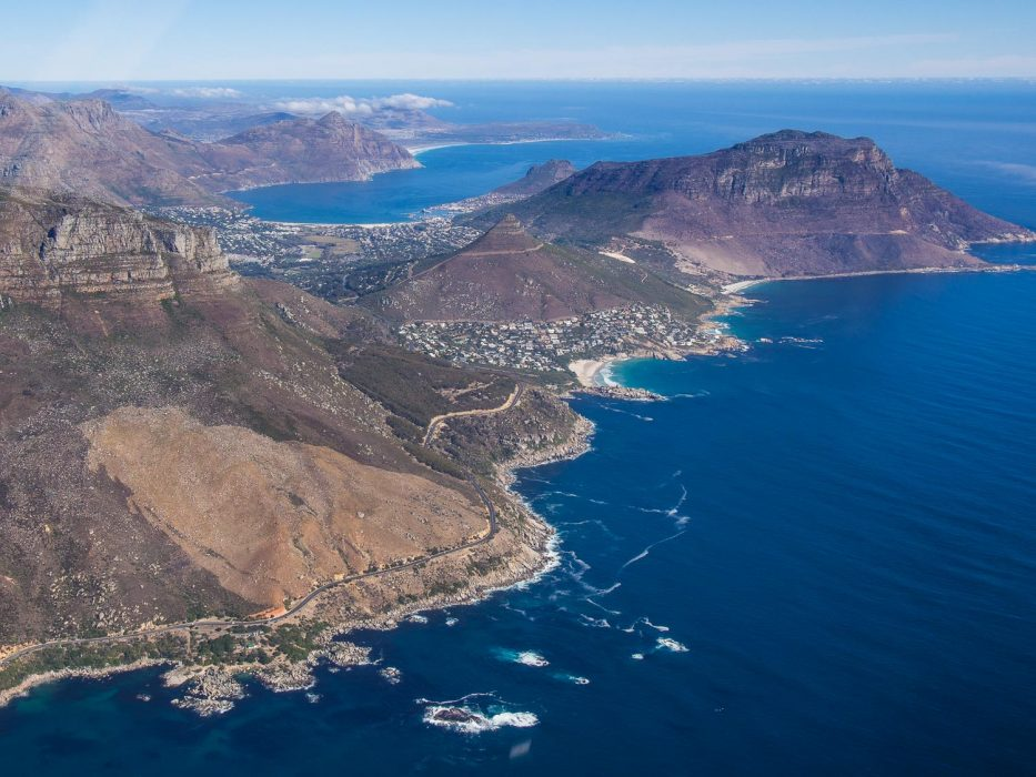 Cape Town Helicopters review: Victoria Rd and Lladudno bea