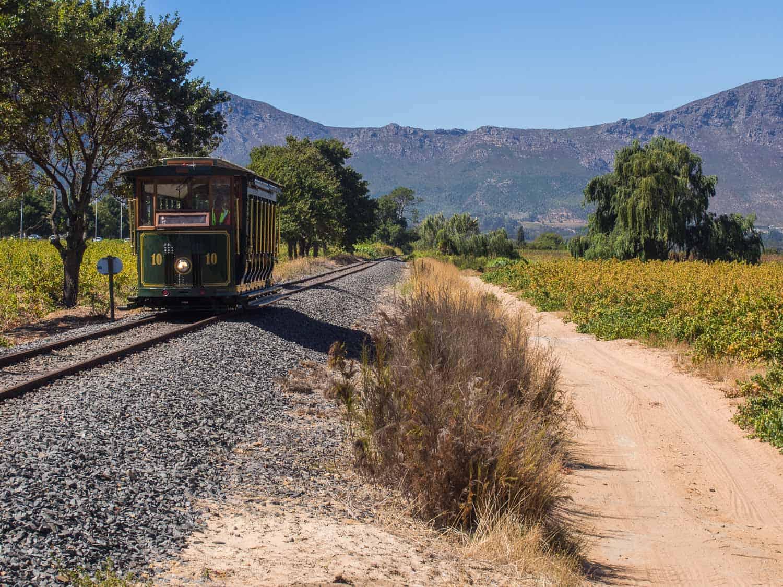 Franschhoek wine tram review