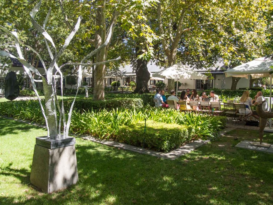 Grand Provence winery on the Franschhoek wine tram Green line