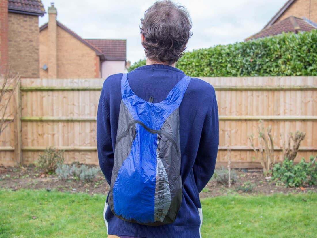 The Sea to Summit Ultra-Sil Daypack - the best packable daypack if size and weight are your main concerns
