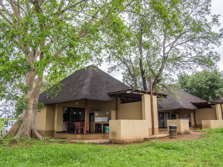 Lower Sabie bungalows on a Kruger self-drive safari