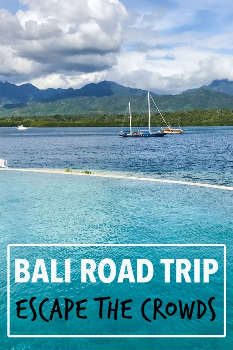 Escape the crowds with this off-the-beaten-track Bali road trip to stunning mountains, waterfalls, lakes, islands and beaches. Featuring Munduk, Menjangan Island, Balian Beach and Ubud. Plus tips for touring Bali by motorbike.