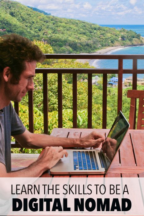 Learn the skills you need to become a digital nomad and be able to work online while you travel. Skillshare is an online learning community for creators with over 16,000 classes in business, technology, design and more. Try it for two months for FREE with the link in this post. Click through for a detailed Skillshare review.