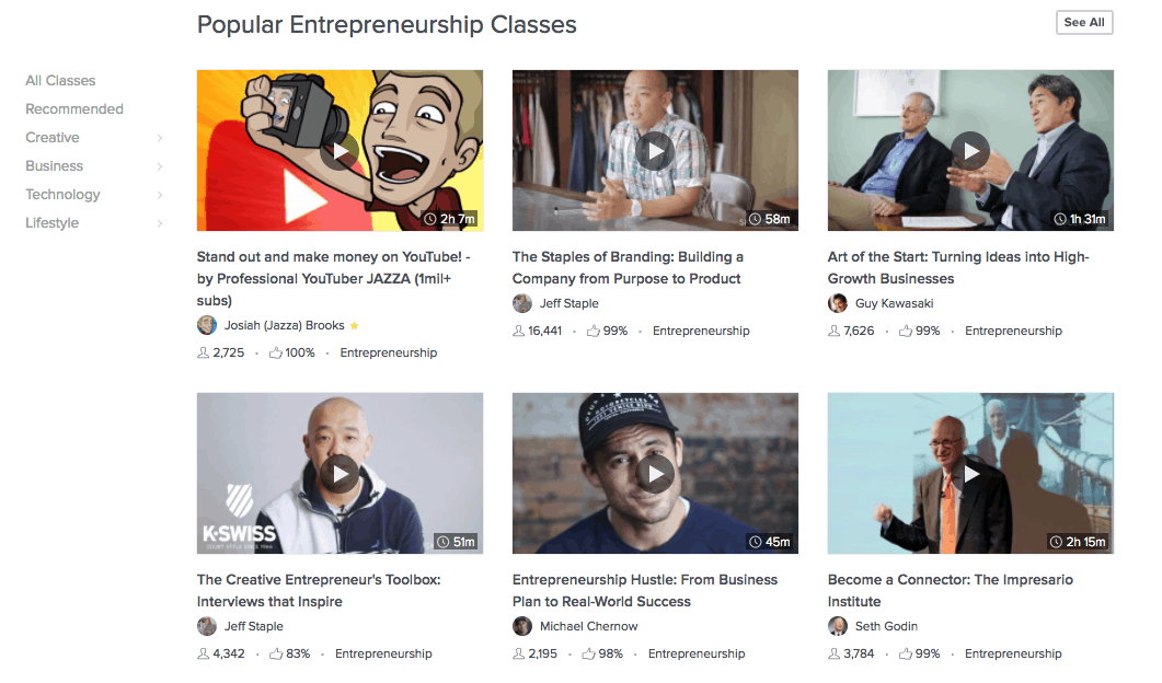 Skillshare review - how to choose the best classes