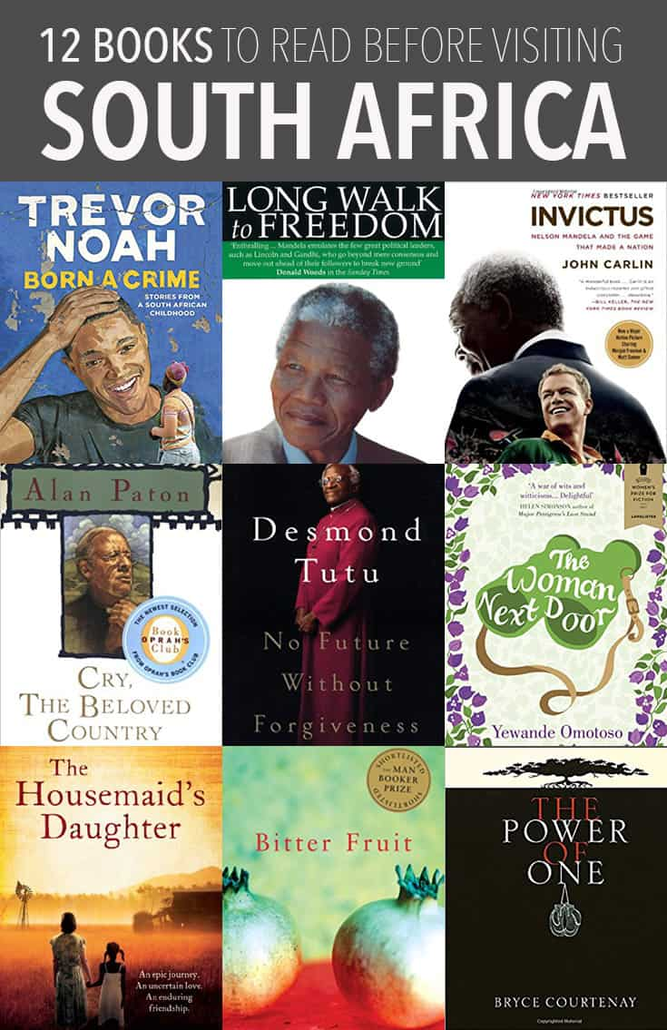 Learn about South Africa's history and culture by reading these non-fiction books and novels before you visit.