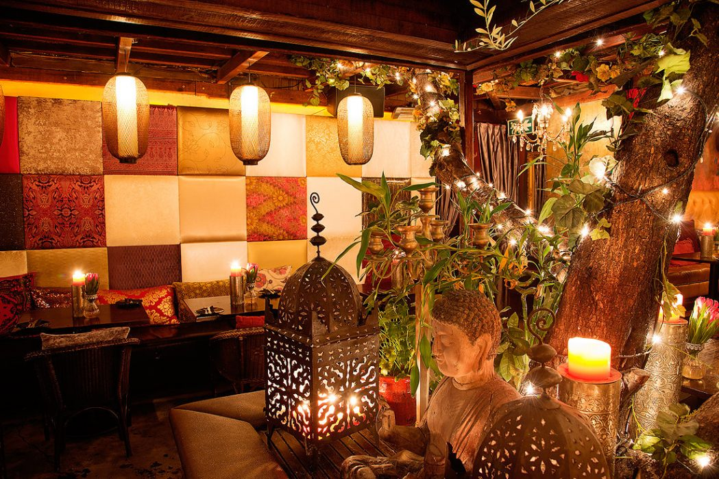 Asoka in Cape Town has a vegetarian section of the tapas menu and cool Asian decor
