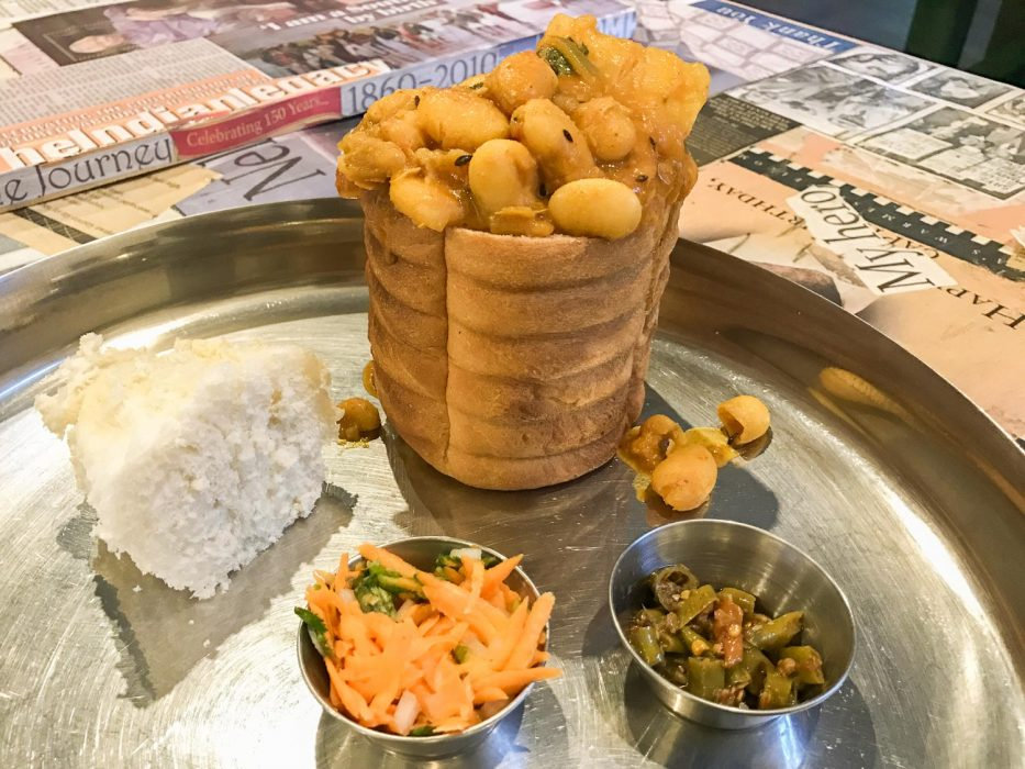 Bunny Chow at Thali in Johannesburg