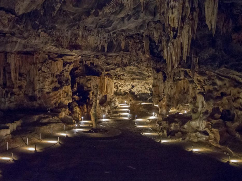 The Cango Caves, one of the best things to do in Oudtshoorn, South Africa