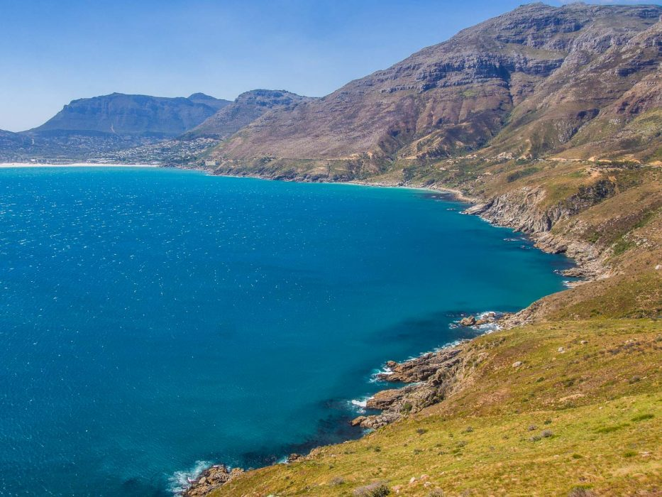 Chapman's Peak Drive on the way back from the Cape Peninsula, South Africa