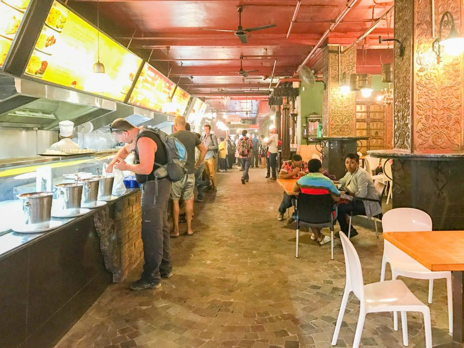 Eastern Food Bazaar is a good place for cheap vegetarian Indian food in Cape Town