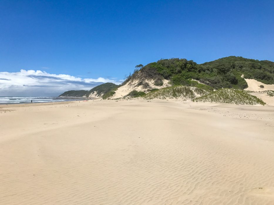 Chinta beach - a top on our South Africa road trip