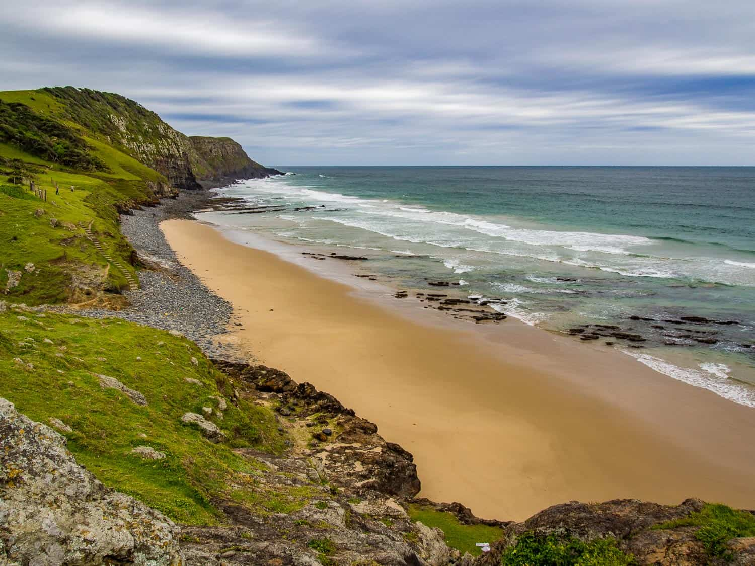 Coffee Bay on the Wild Coast is a great stop on a South Africa road trip.