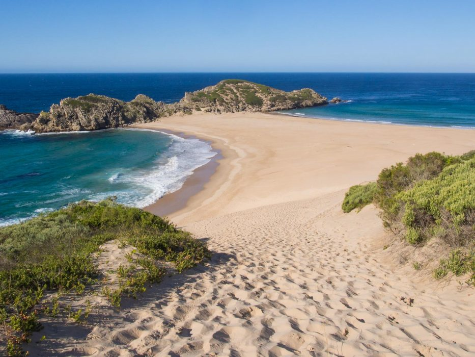 Hiking in the Robberg Nature Reserve, Plettenberg Bay, South Africa