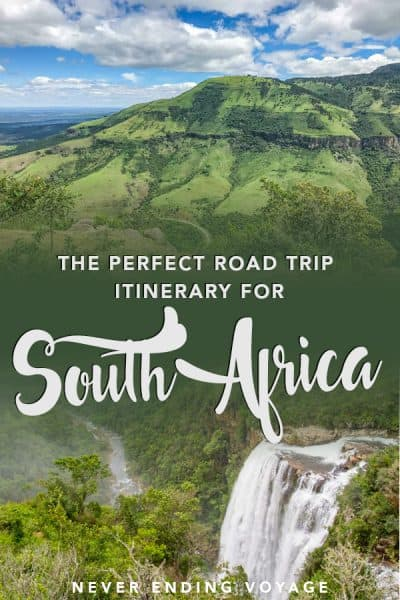 Planning to visit South Africa? Here's the perfect road trip itinerary. #southafrica #southafricaroadtrip #southafricaitinerary