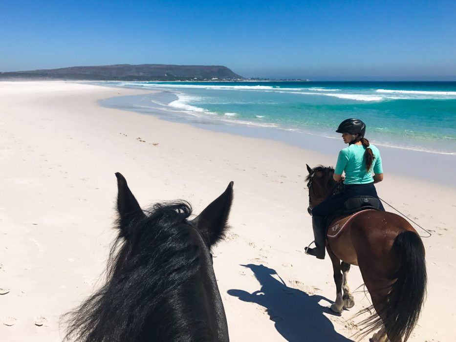 Horse riding on Noordhoek Beach - one of the best activities in Cape Town