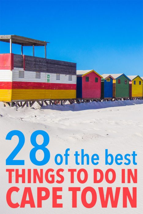 Click through for the best things to do in Cape Town, South Africa including Table Mountain, Camps Bay, Bo Kaap, Lion's Head, Robben Island, penguins, beaches, hikes, wineries, and many more activities. Plus useful Cape Town travel tips.