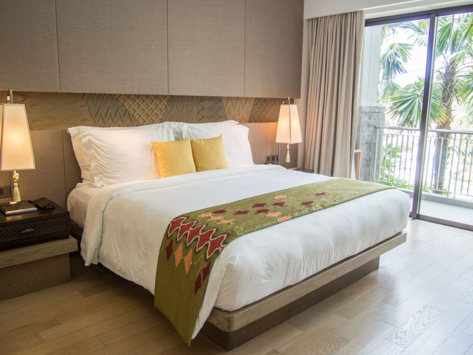 Our Classic Pool View room at the Movenpick Bali