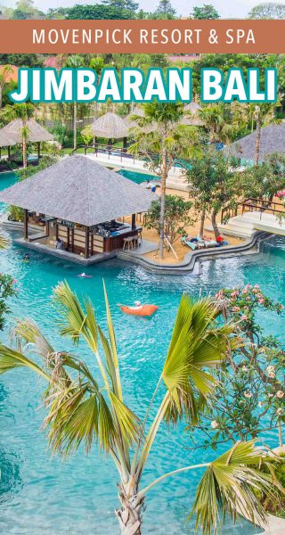 Here's a full review of the luxurious Movenpick Resort & Spa in Jimbaran, Bali.