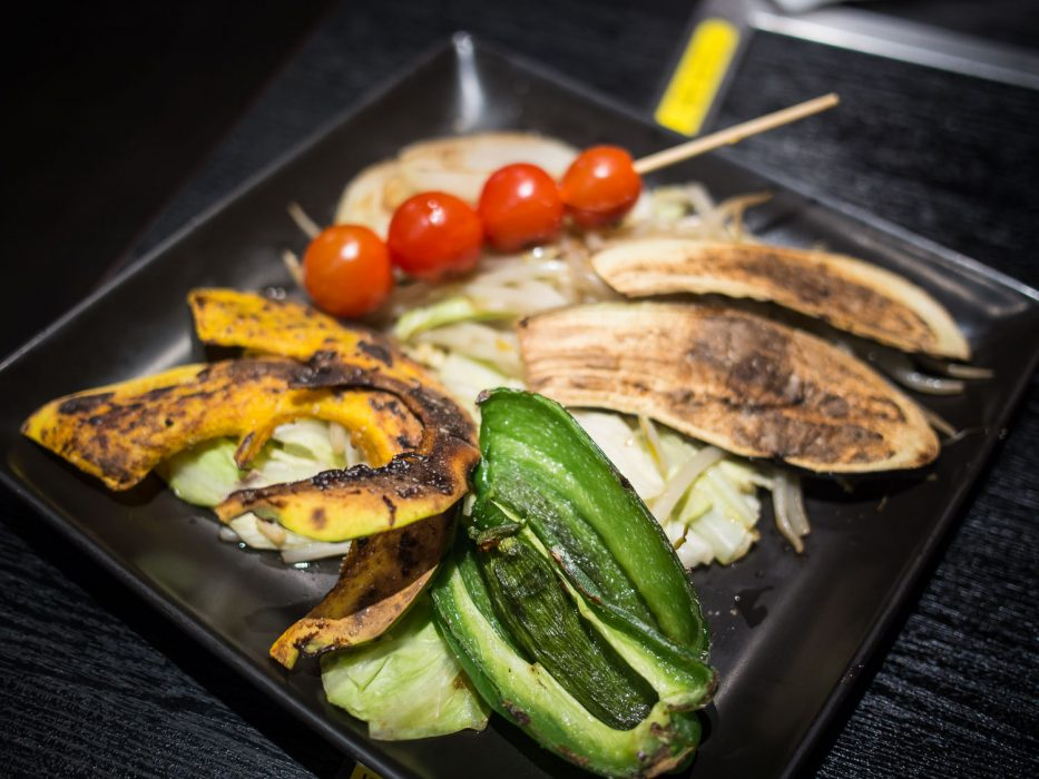 Grilled vegetables at Zen, Tokyo