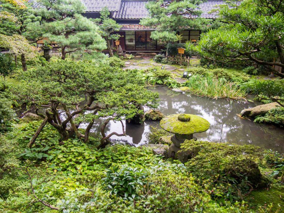 Gyokusen-en gardens in Kanazawa