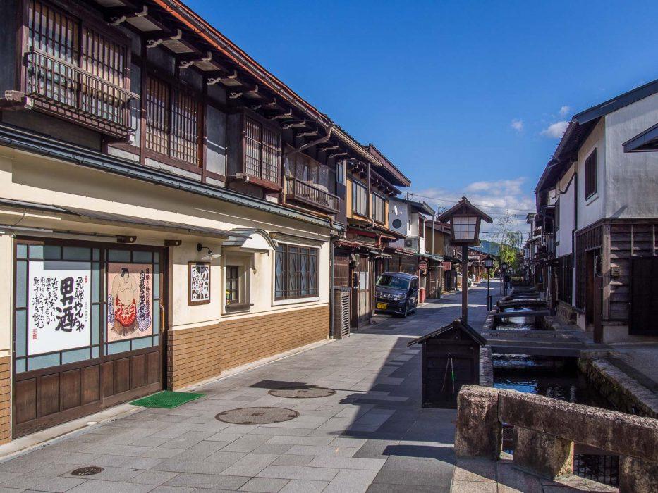 Hida Furukawa near Takayama