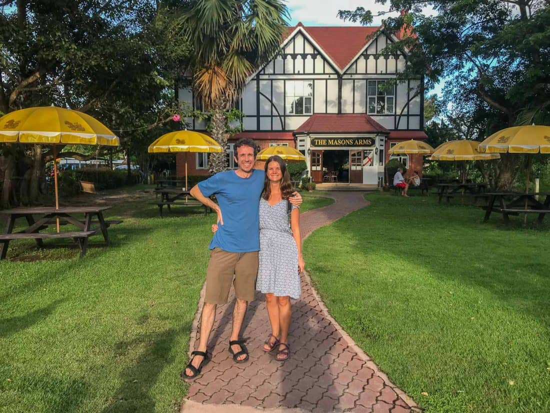 Mason's Arms pub on Koh Phangan