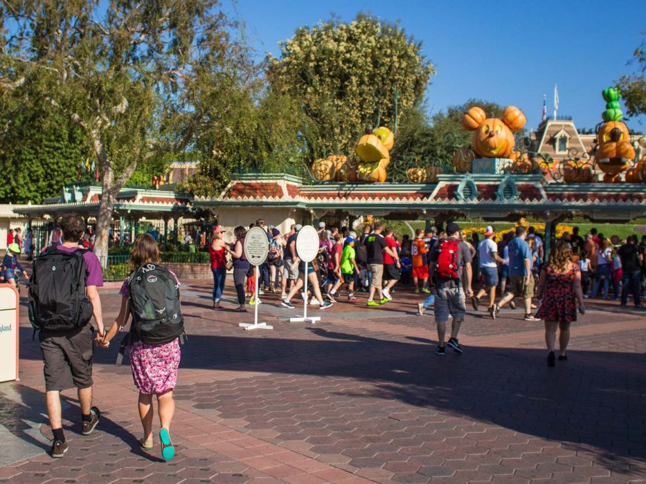 Wearing my Brentwood vegan Tieks for a long day at Disneyland California