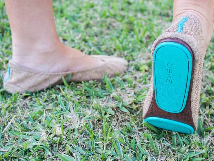 A detailed Tieks review, the most comfortable ballet flats for travel.